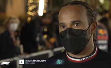 Hamilton GP Bahrain