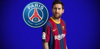 Messi no Paris Saint-Germain