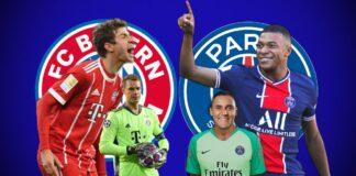 PSG Bayern UCL