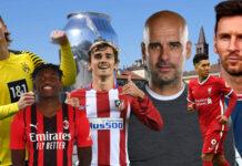 Champions League 1 rodada 2021/22